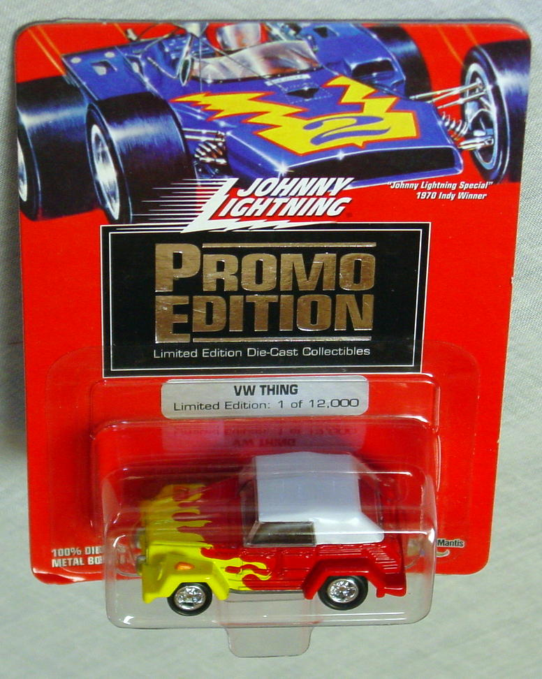 White Lightning - PROMO EDITION VW Thing Red and Yellow Ltd 12000