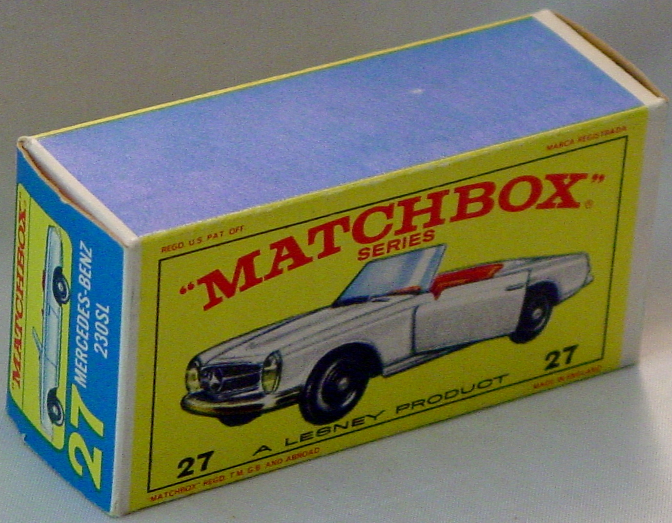 Empty Box 27 D - C9.5 E4 BOX ONLY