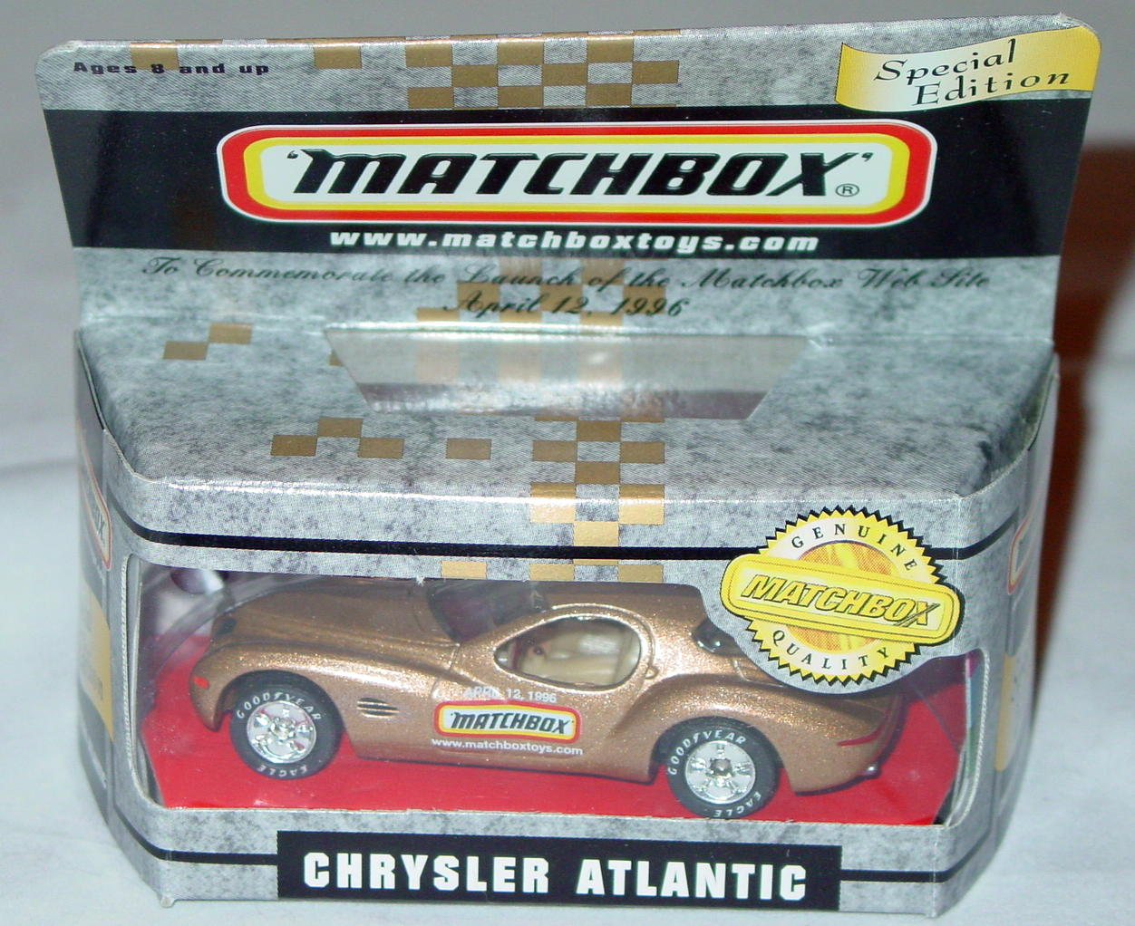 Collectibles - 32833 11G3 Chrysler Atlantic Matchboxtoys.com