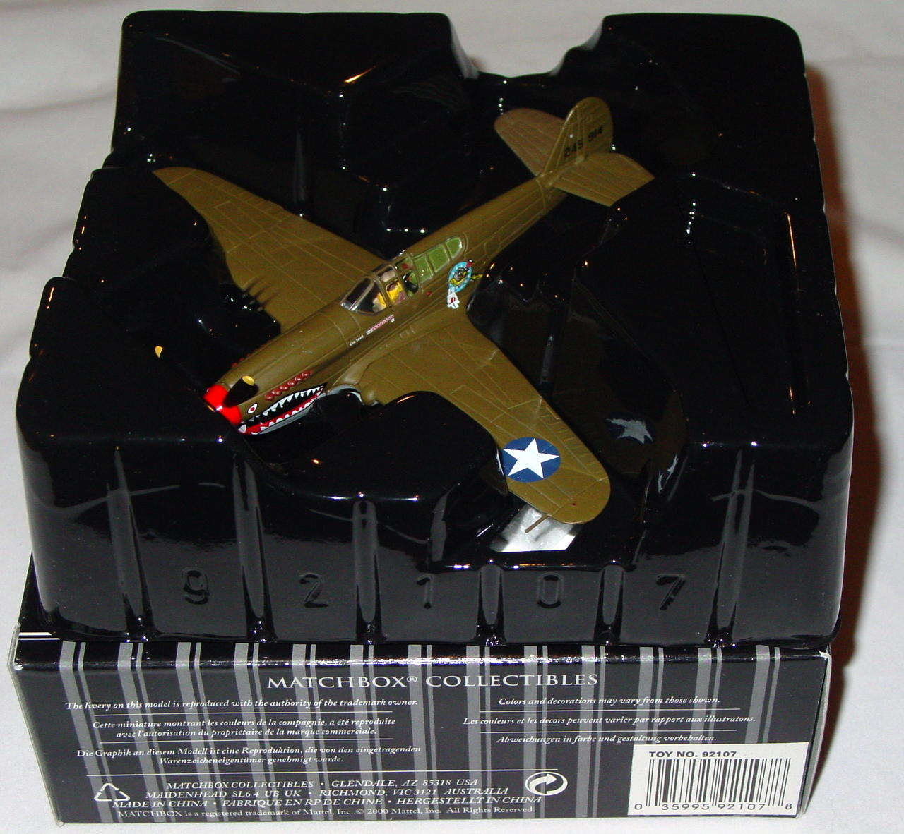 Collectibles - 92107 PLATINUM P40 Curtiss