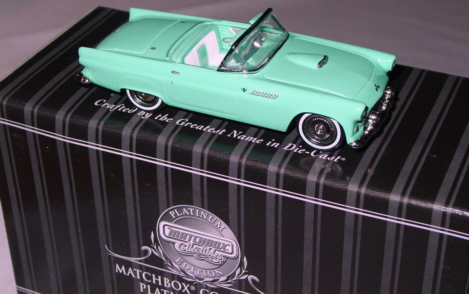 Collectibles - 92542 PLATINUM 57 Ford Thunderbird Turquoise