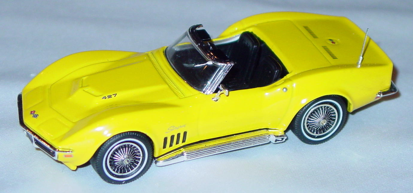 Collectibles - CCV01M MATCHBOX ULTRA 69 Corvette Yellow