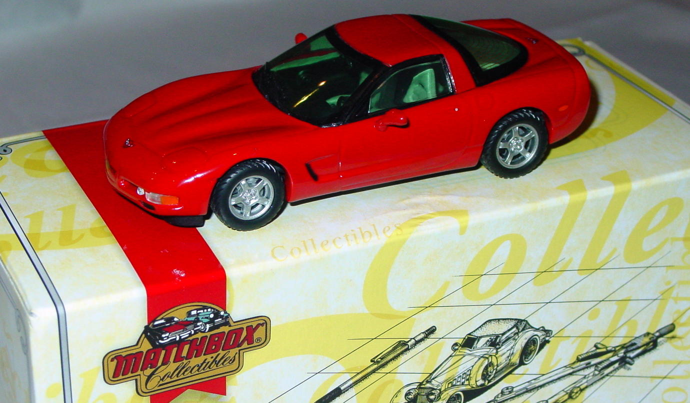 Collectibles - CCV04M MATCHBOX ULTRA 97 Corvette Red