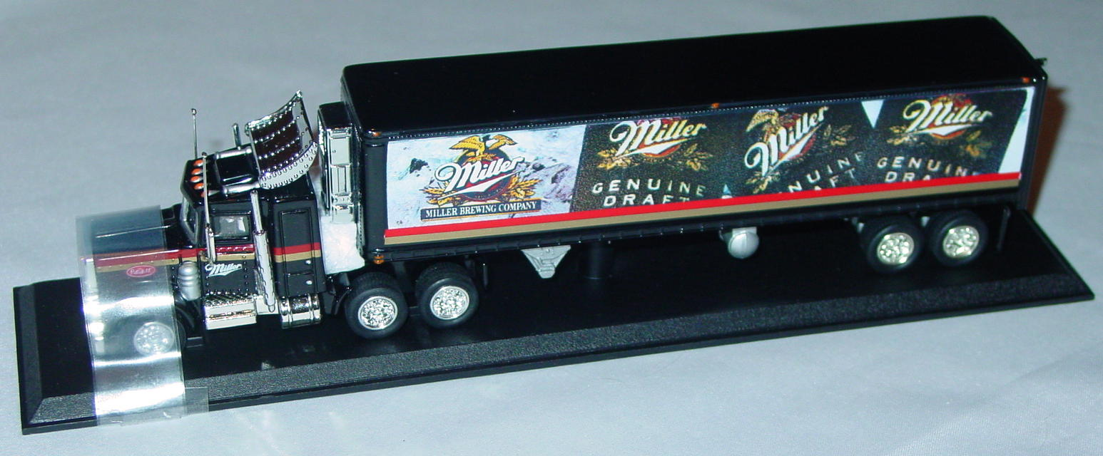 Collectibles - CCY01M Peterbilt Cont Truck Miller Genuine Draft