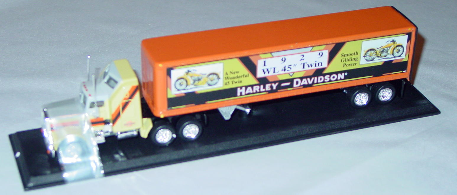 Collectibles - CCY04HAM Kenworth Cont Truck Harley 1929 WL 45