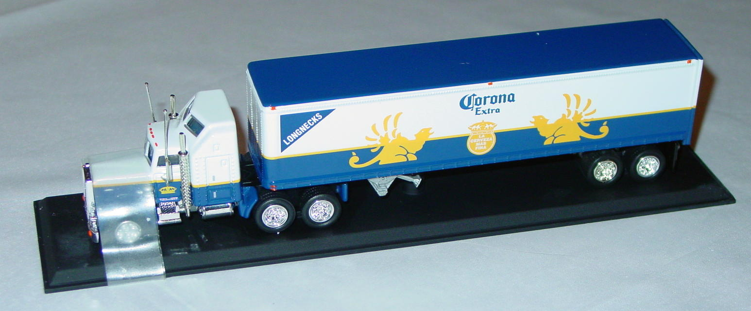 Collectibles - CCY04M Kenworth Cont Truck Longneck Corona Extra