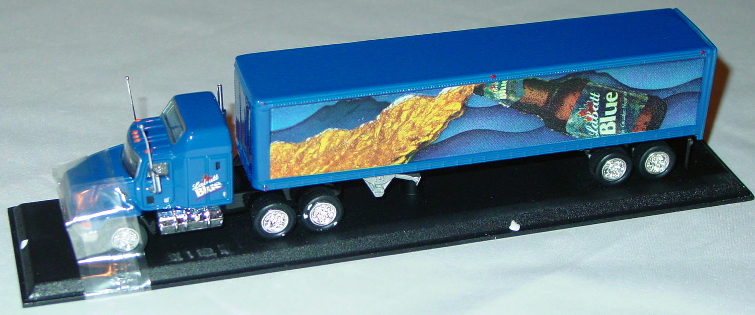 Collectibles - CCY05-crownM Mack Cont Truck Labattery Blue