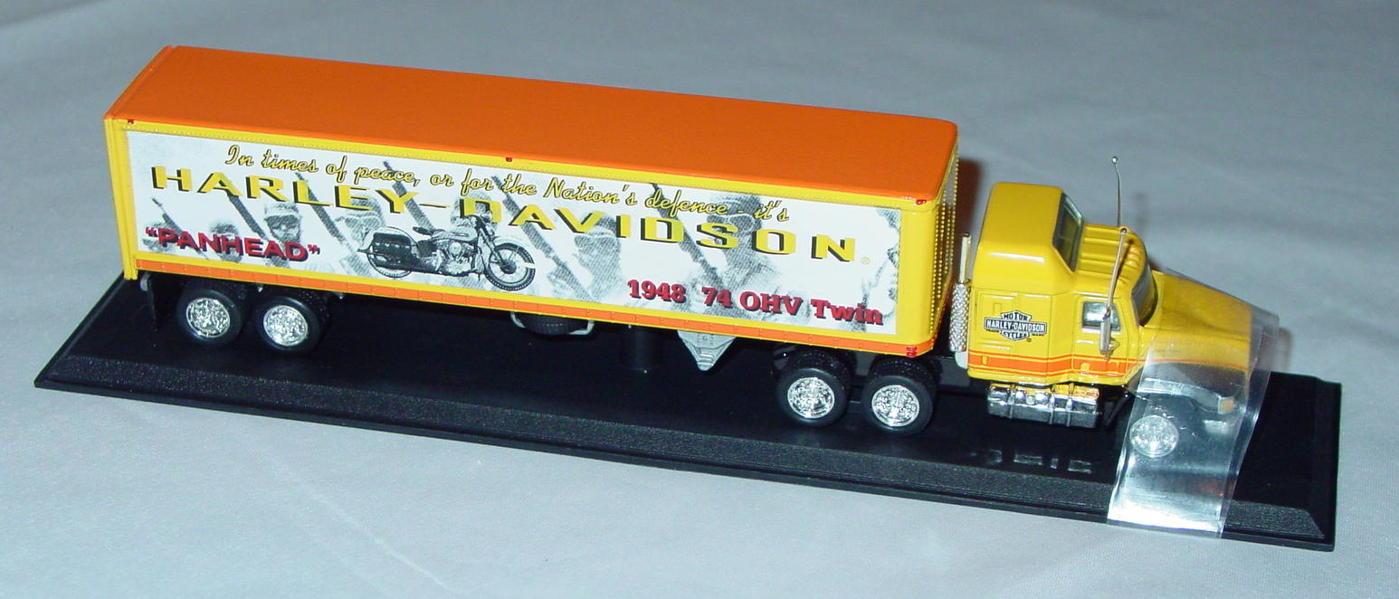Collectibles - CCY05HAM Mack Cont Truck Harley 1948 740HV Panhead