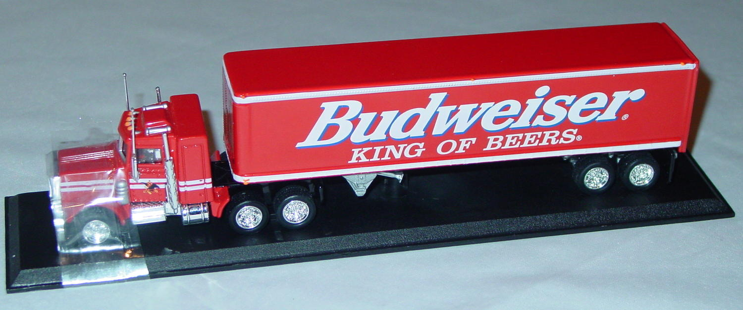 Collectibles - CCY06BM Peterbilt Cont Truck Budweiser King of Beers