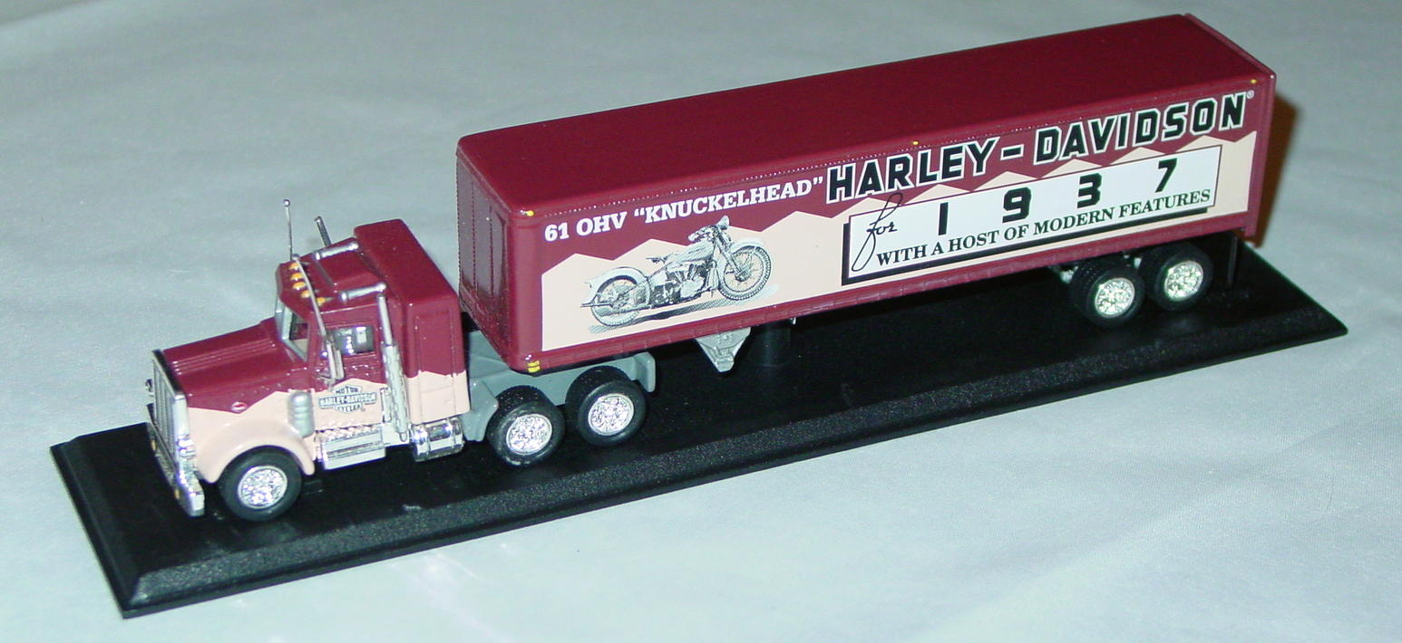 Collectibles - CCY06HAM Peterbilt Cont Harley 61OHV Knucklehead