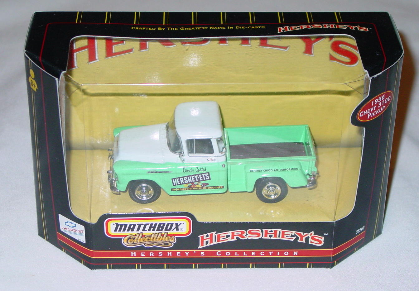 Collectibles - 38263 56 Chevy 3100 Pickup Hersheys Americana