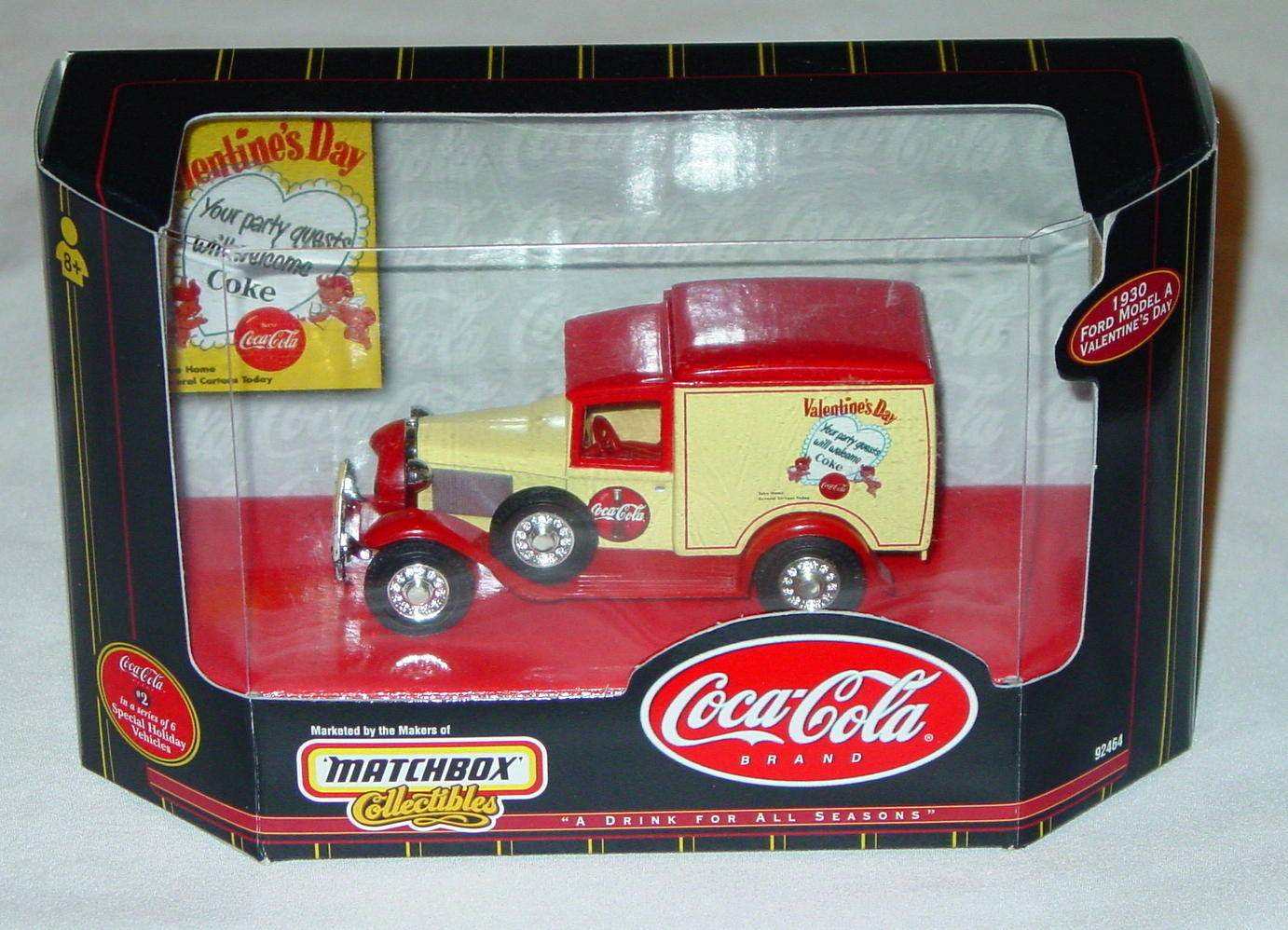 Collectibles - 92464 COKE 30 Model A Valentines Day