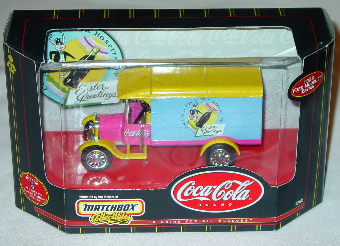 Collectibles - 92465 COKE 26 Model TT Van Easter