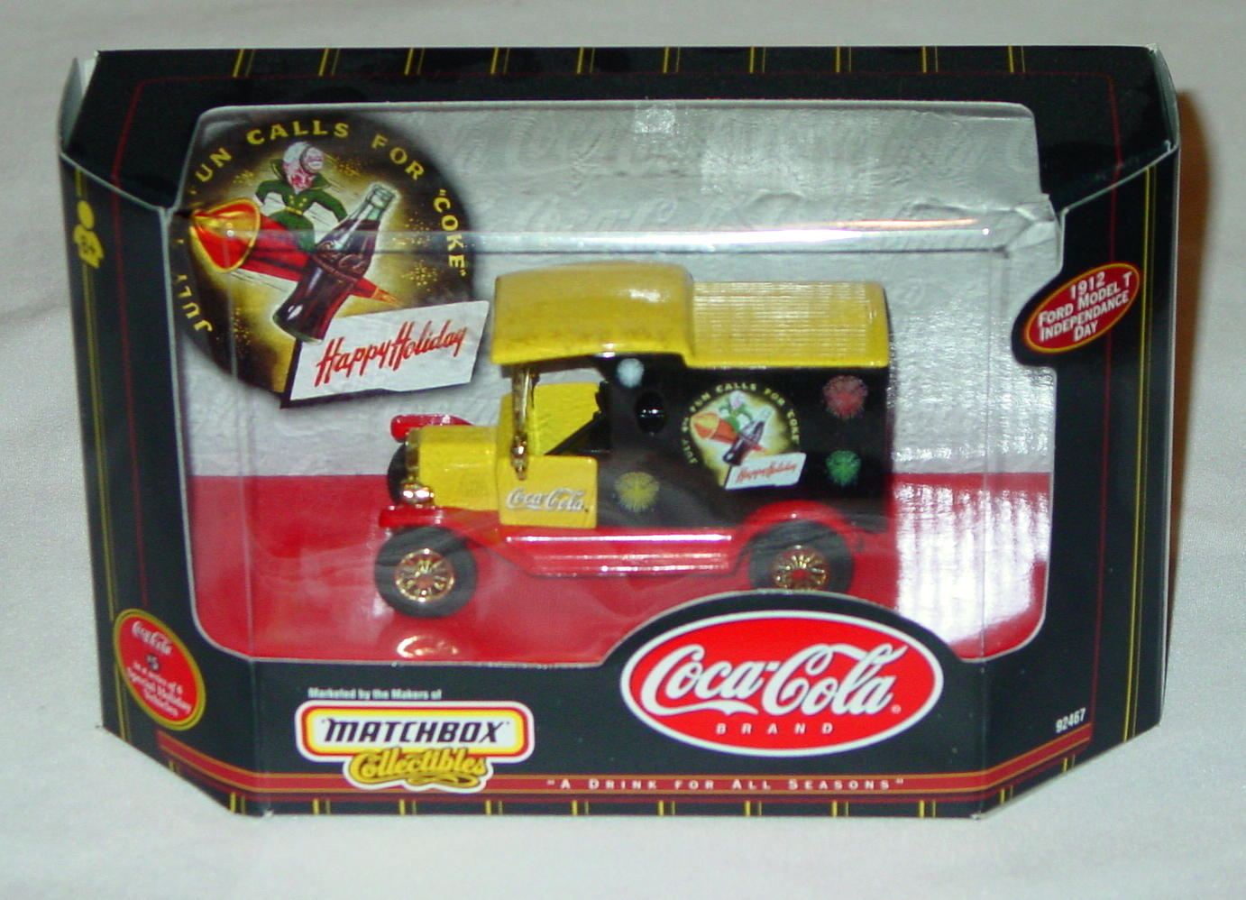 Collectibles - 92467 COKE 12 Model T Independence Day