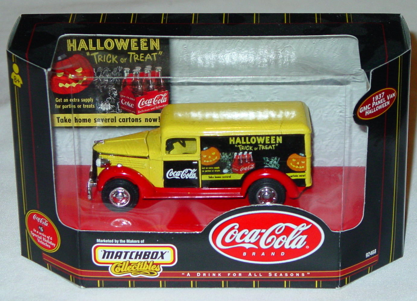 Collectibles - 92468 COKE GMC Van Halloween