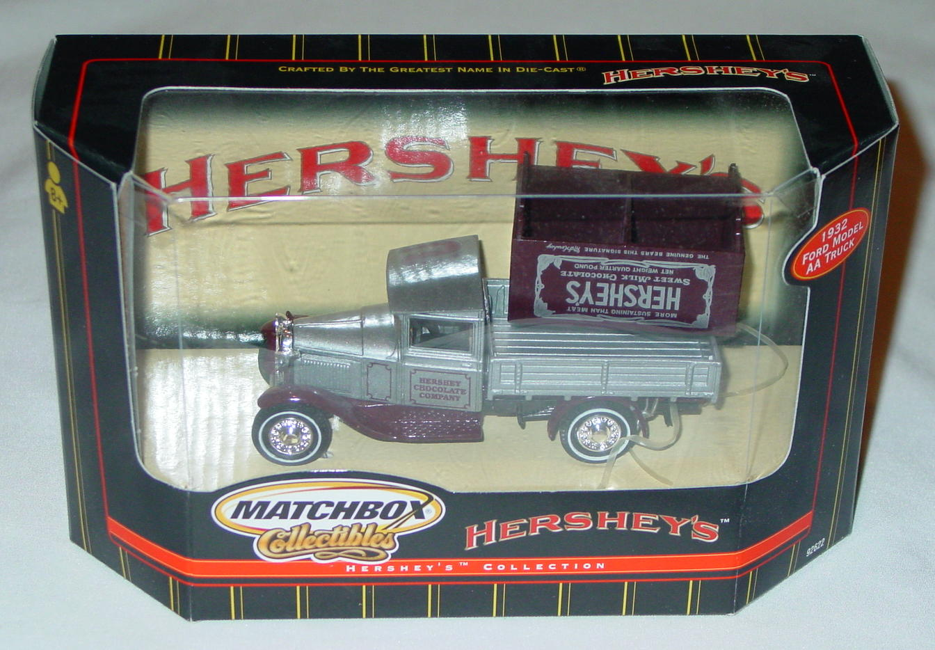 Collectibles - 92622 12 Model AA Truck Silver and Brown Hersheys Americana