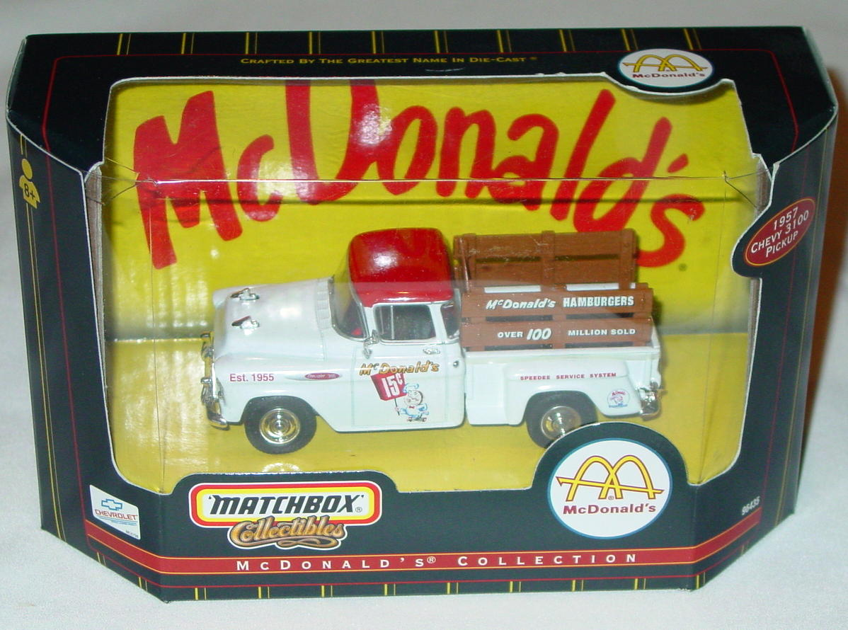 Collectibles - 96435 57 Chevy 3100 Pickup MacDonalds Americana