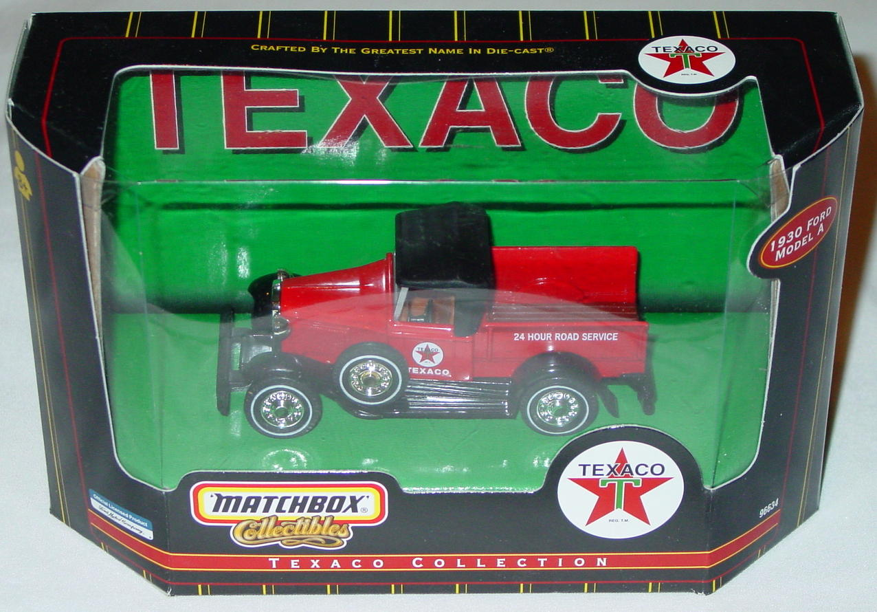 Collectibles - 96634 30 Model A Red Texaco Americana