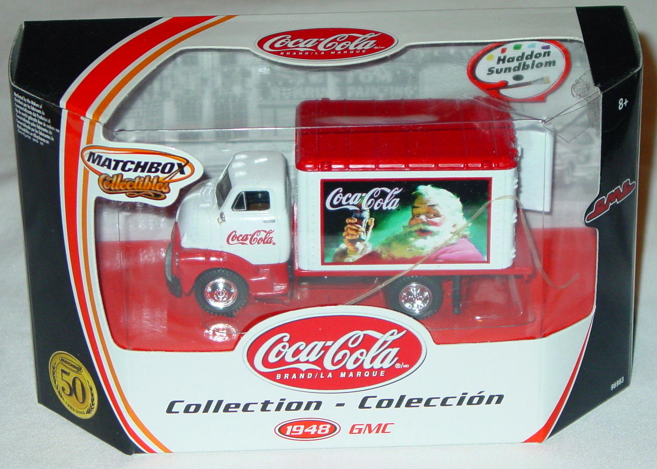 Collectibles - 96963 48 GMC Truck Coke Haddon Sundblom