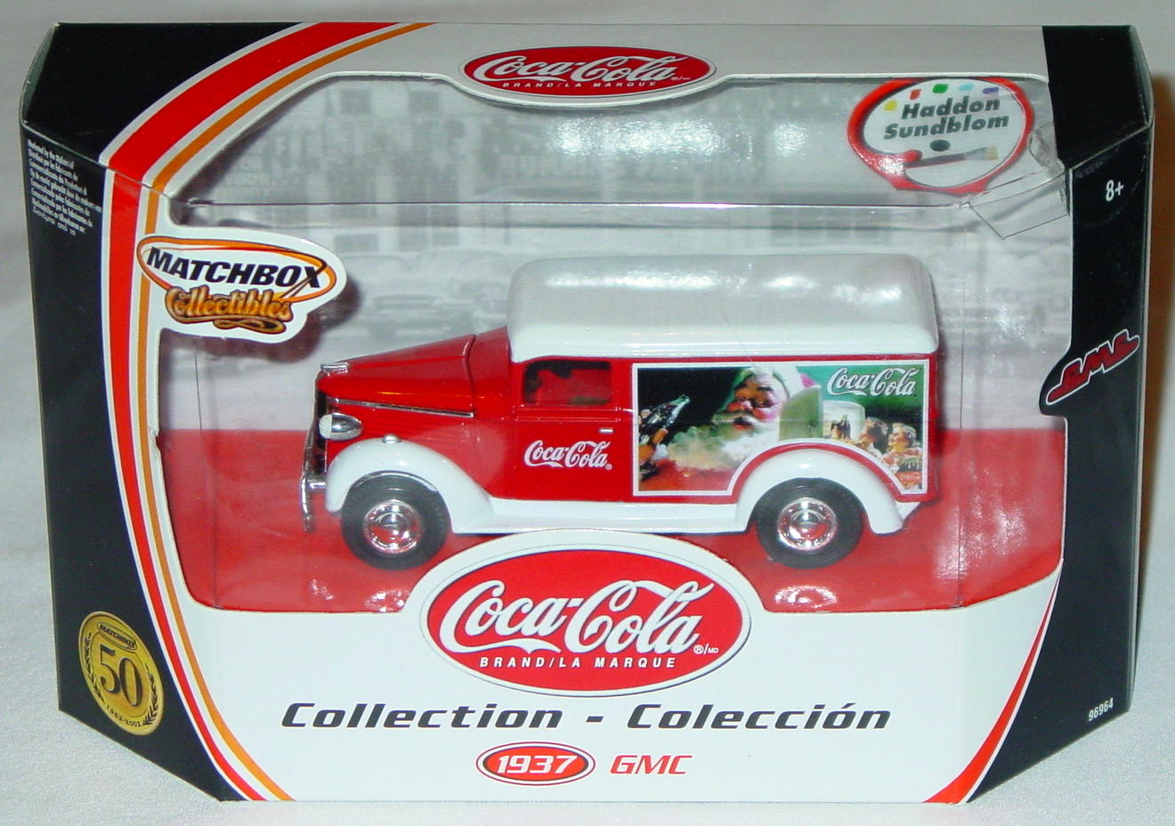 Collectibles - 96964 37 GMC Van Coke Haddon Sundblom