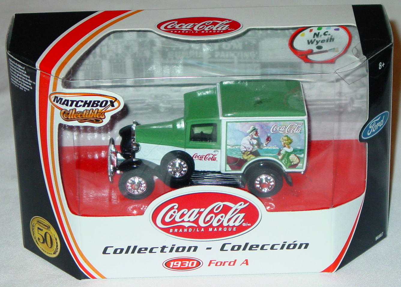 Collectibles - 96967 30 Ford Model A Van Coke N. C. Wyeth