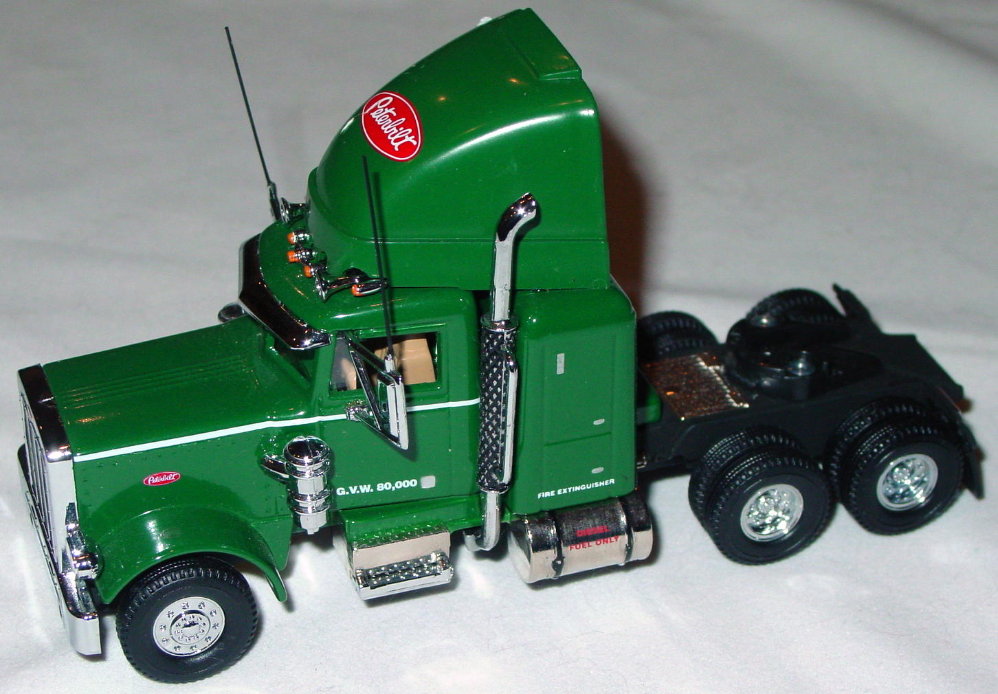 Collectibles Ks193am Peterbilt 359 Cabover Green Tractor Only