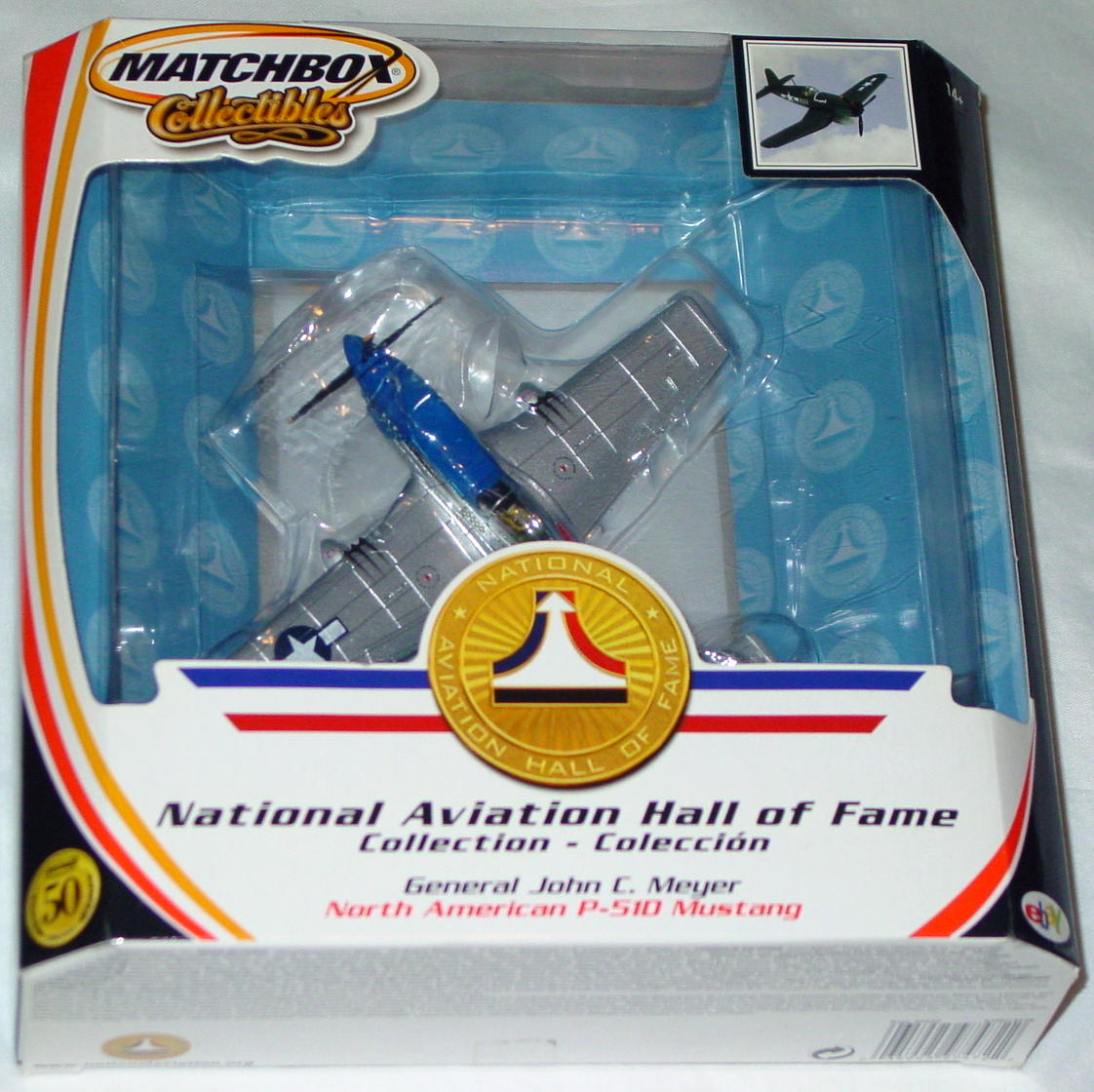 Collectibles - 91057 P51D Mustang blue and Silver Gen. John C Meyer