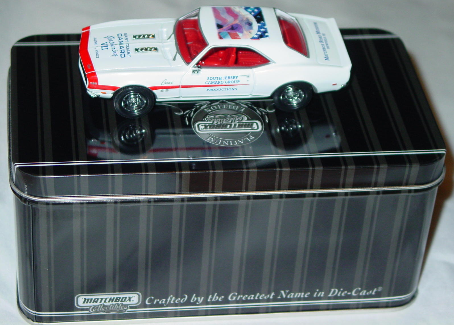 Collectibles - 92686 PLATINUM SELECT 68 Camaro White East Coast2003
