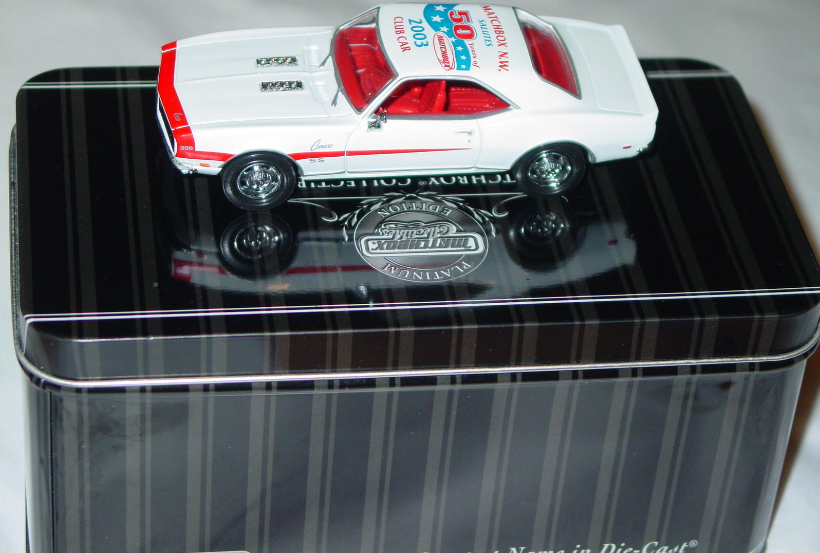 Collectibles - 92686 PLATINUM SELECT 68 Camaro White MBX NW 2003