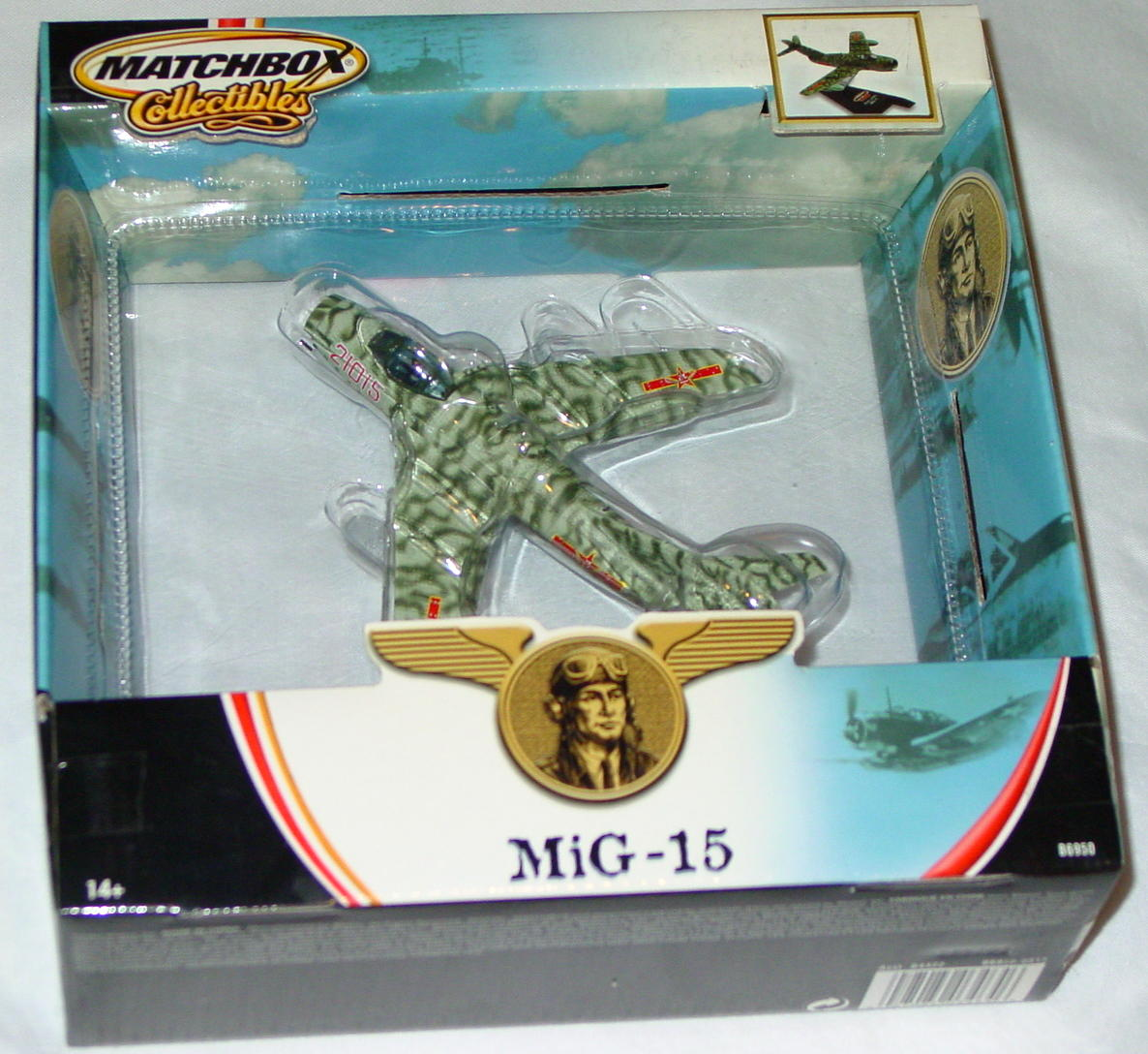 Collectibles - B6950 Olive Camo MiG