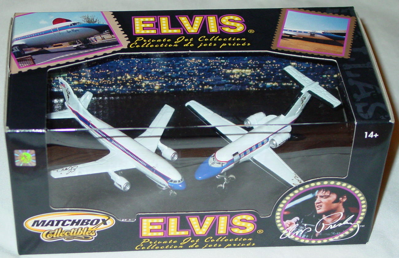Collectibles - B8732 Two Elvis Private Jets
