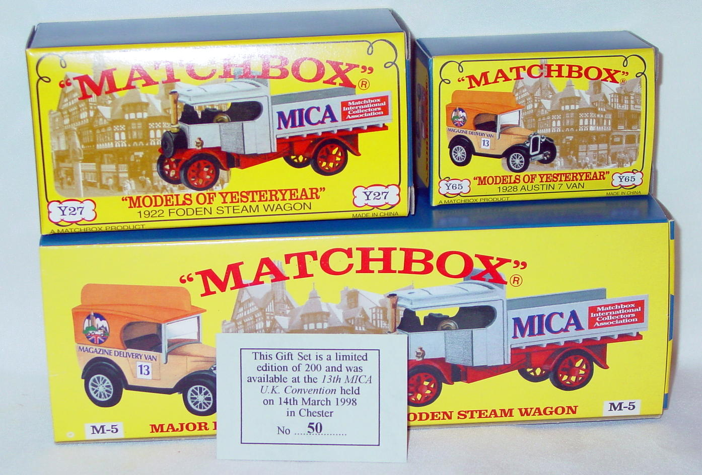 Major Pack 05 - M5 CODE 2 Y27A Foden Y65A Austin 7 13th MICA UK