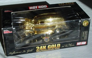 1_24 Scale - RC 24K Gold 1/4998 panel Truck Hot Rod 50th Ann