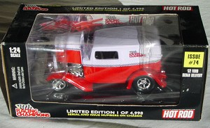 1_24 Scale - RC 32 HOT ROD Ford Del Red and lav. 1/4998