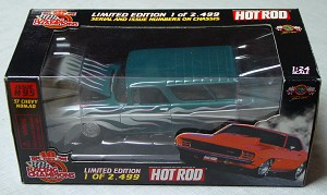 1_24 Scale - RC 57 HOT ROD Chevy Nomad dark turquoise 1/2499 No 95