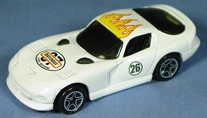 ASAP-CCI 01 G - Dodge Viper GTS White 2007 Toy Show