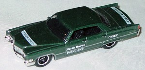 ASAP-CCI 02 N - MODELoftheMONTH 5/09 Caddy DeVille Green LTD 10!
