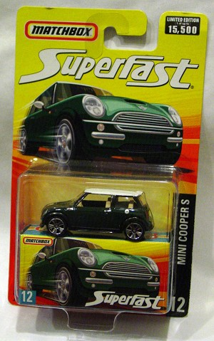 Offshore SuperFast 75 L - 2006 SF 12 Mini Cooper S met Green and White